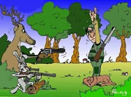 Non au prosélytisme des chasseurs en  milieu scolaire Chasseur